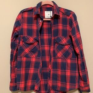 RARE Zara Plaid Shirt ASO